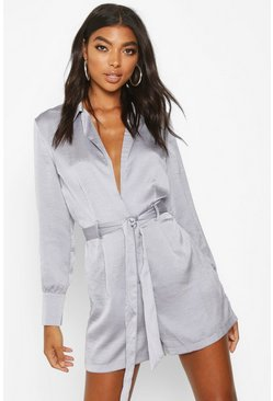 Blue Tall Blazer Playsuit