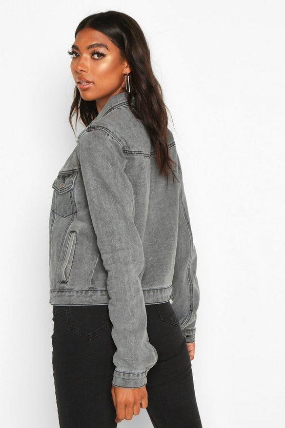 Tall Slim Fit Denim Jacket