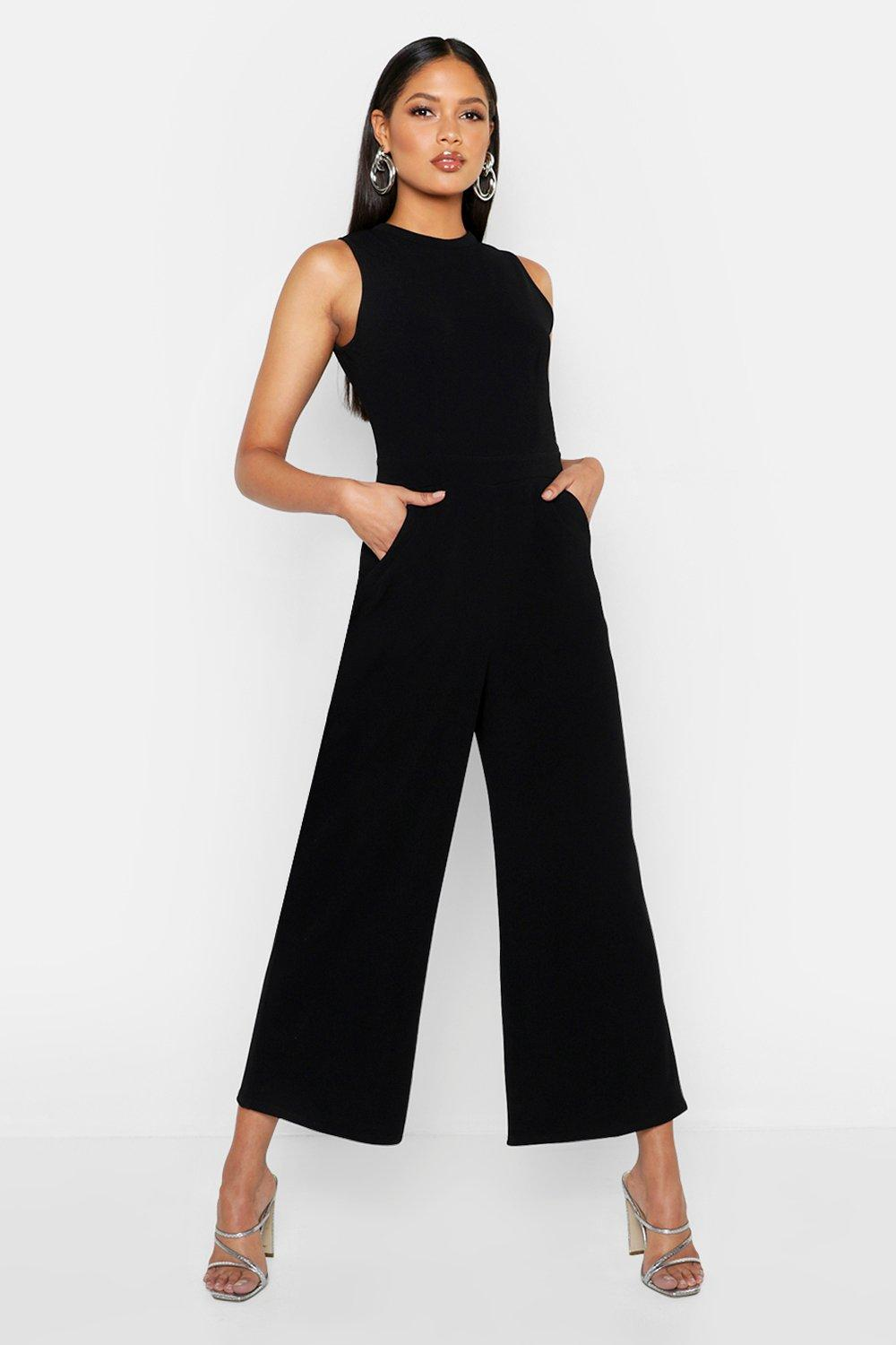 Tall Culotte Tailored Jumpsuit