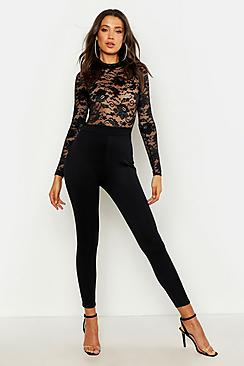 Tall Lace High Neck Jumpsuit