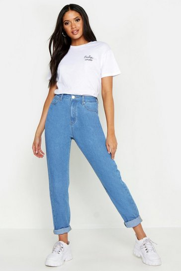 Womens Light blue Tall Boyfriend Jean