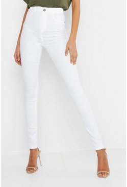 Womens White Tall Basic Jegging