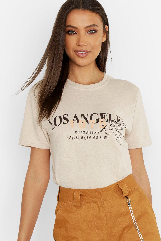 Tall Los Angeles Slogan T-Shirt