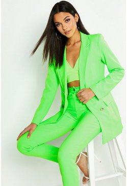 Neon-green Tall Neon Tailored Blazer