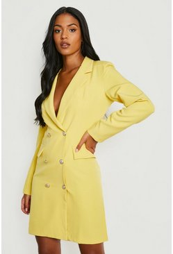 Tall Blazer Dress, Yellow