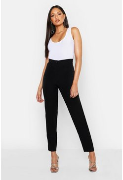 Womens Black Tall Tailored Trouser