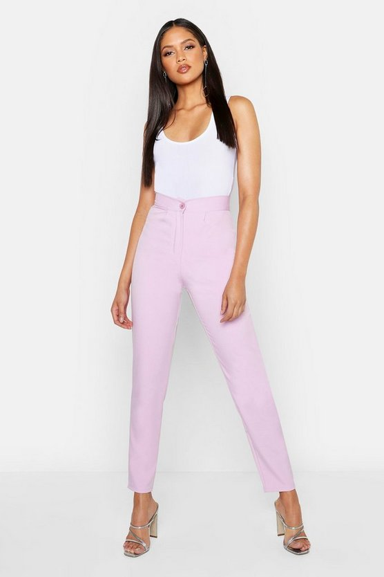 Womens Lilac Tall Tailored Trouser