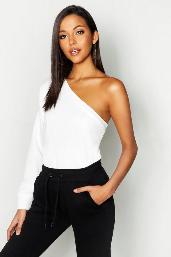 Tall One Shoulder Sweat