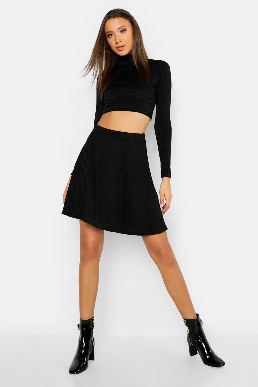 Tall Rib Skater Skirt