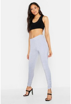 Womens Light grey Tall Ruched Legging