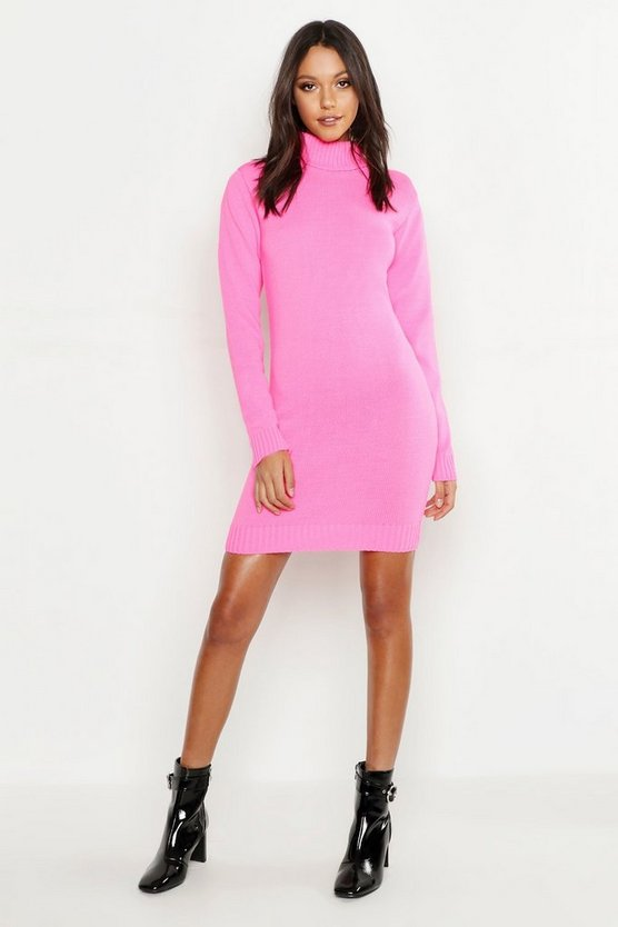 Tall Roll Neck Sweater Dress