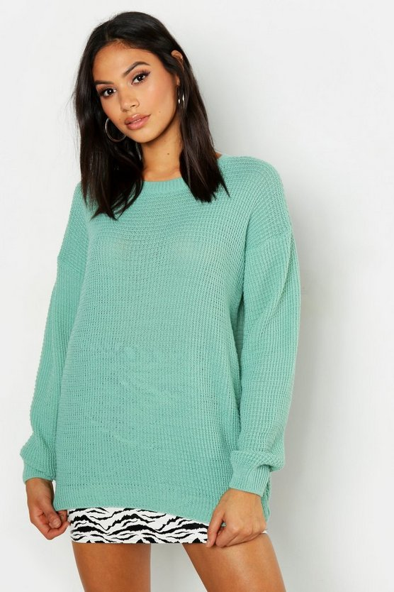 Tall Crew Neck Jumper