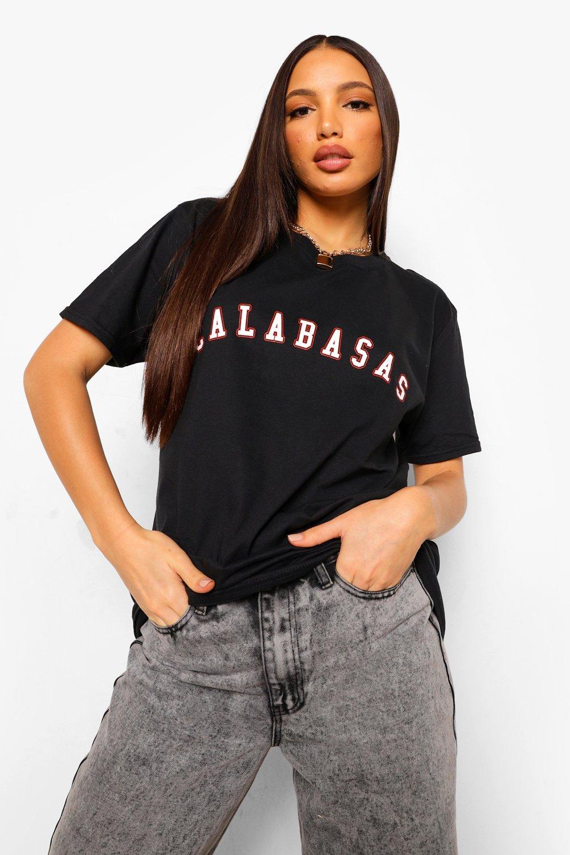 Tall Calabasas Slogan T-shirt