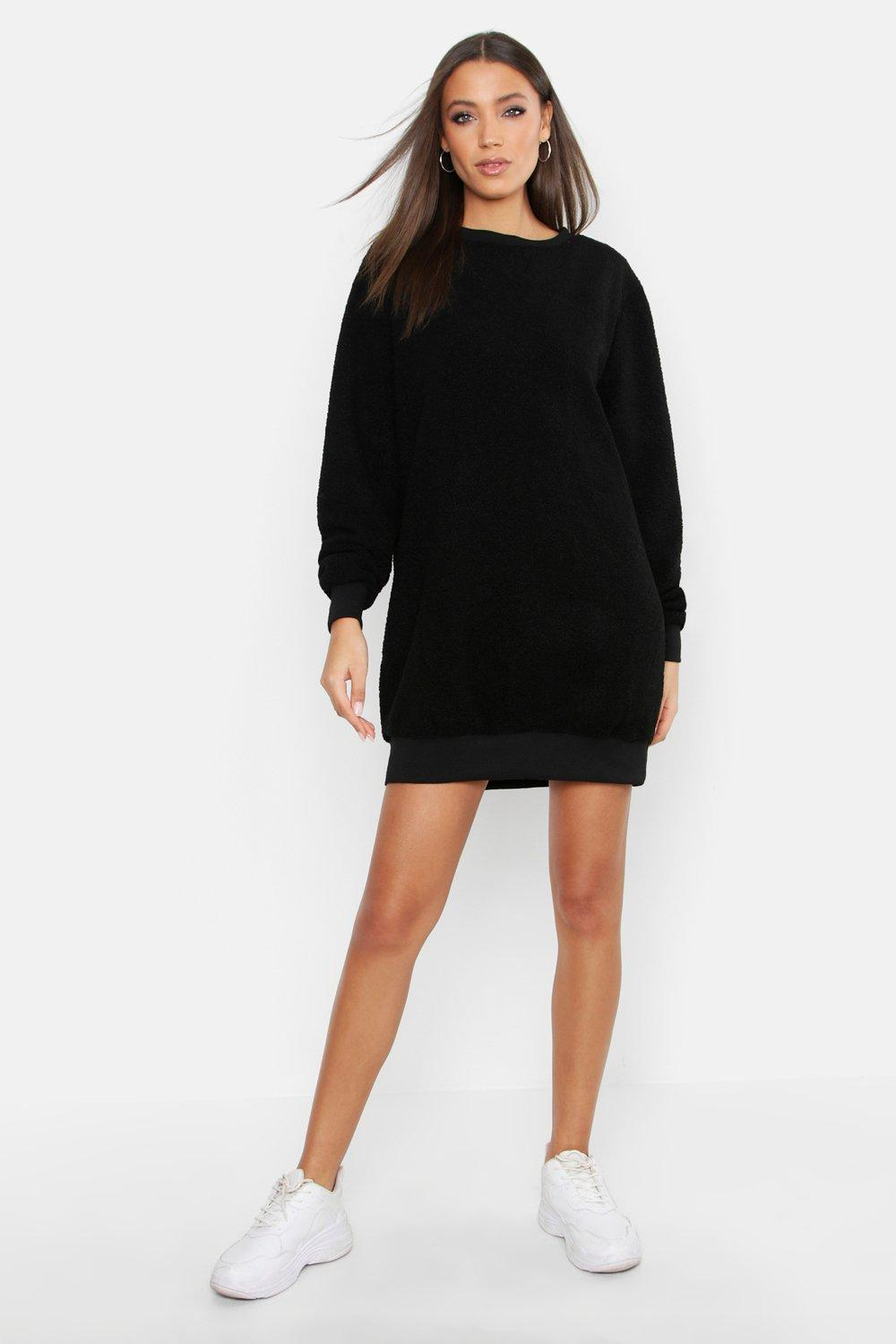 Tall Supersoft Borg Sweat Dress