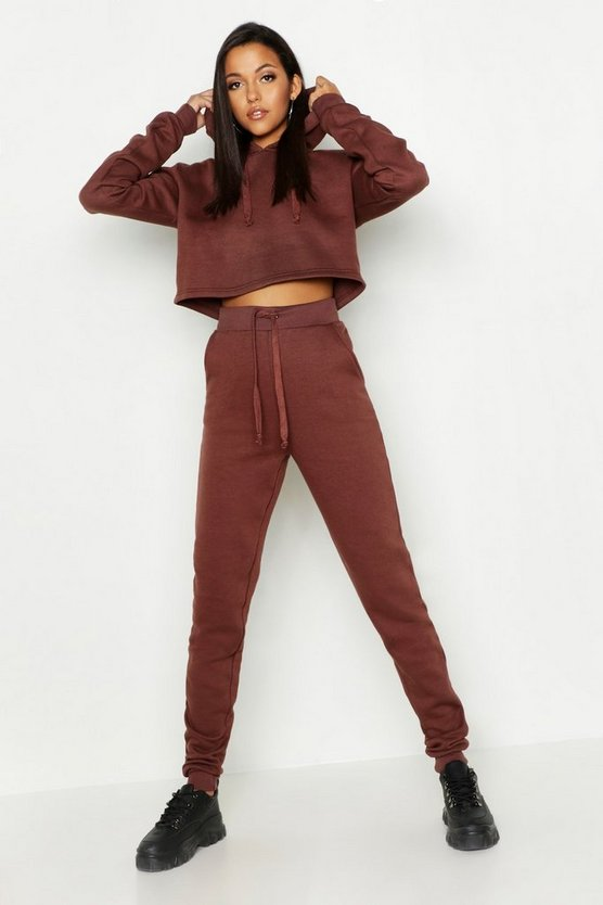 Tall Hooded Crop Lounge Set