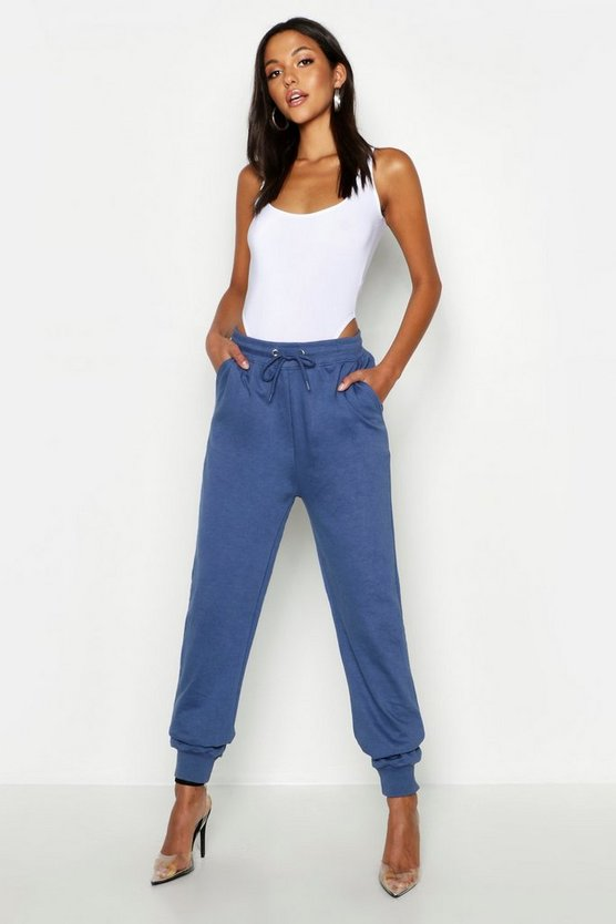 Womens Denim Tall Basic Joggers