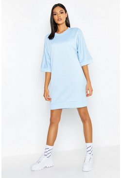 Womens Sky Tall Oversized Loop Back Sweat Dress