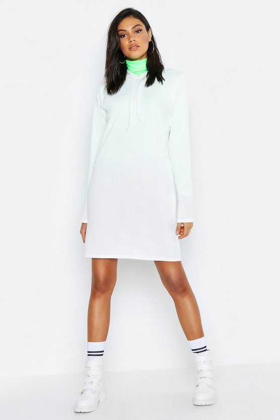 Tall Hooded Rib Sweat Dress