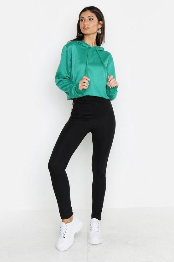 Tall Cropped Hoody
