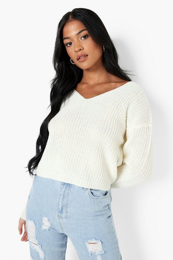 Tall V Neck Jumper