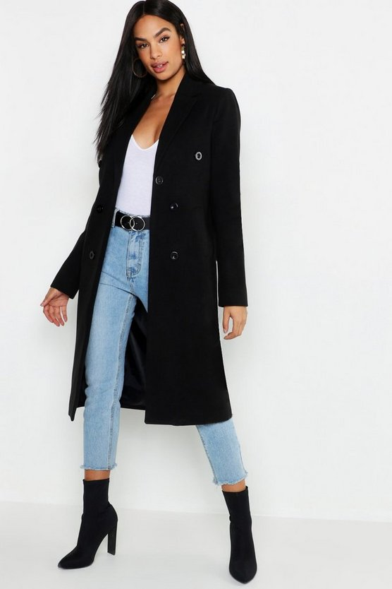 Tall Double Breasted Coat