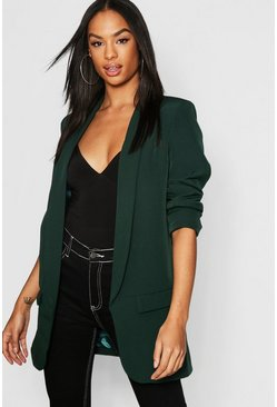 Womens Emerald Tall Tailored Blazer