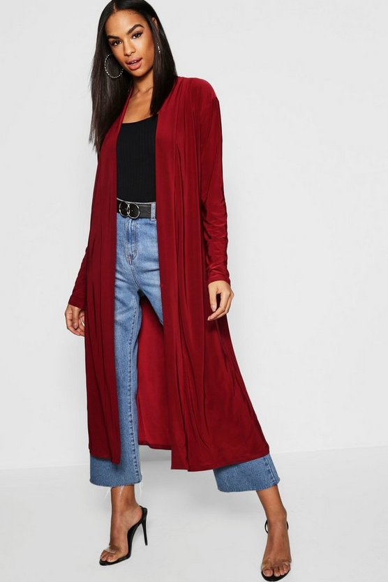 Tall Slinky Duster Jacket