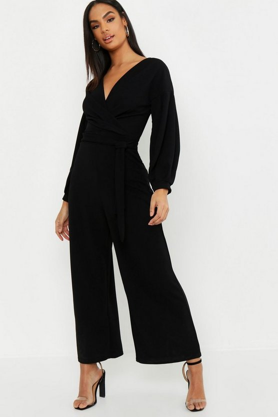 Tall Off The Shoulder Culotte Jumpsuit
