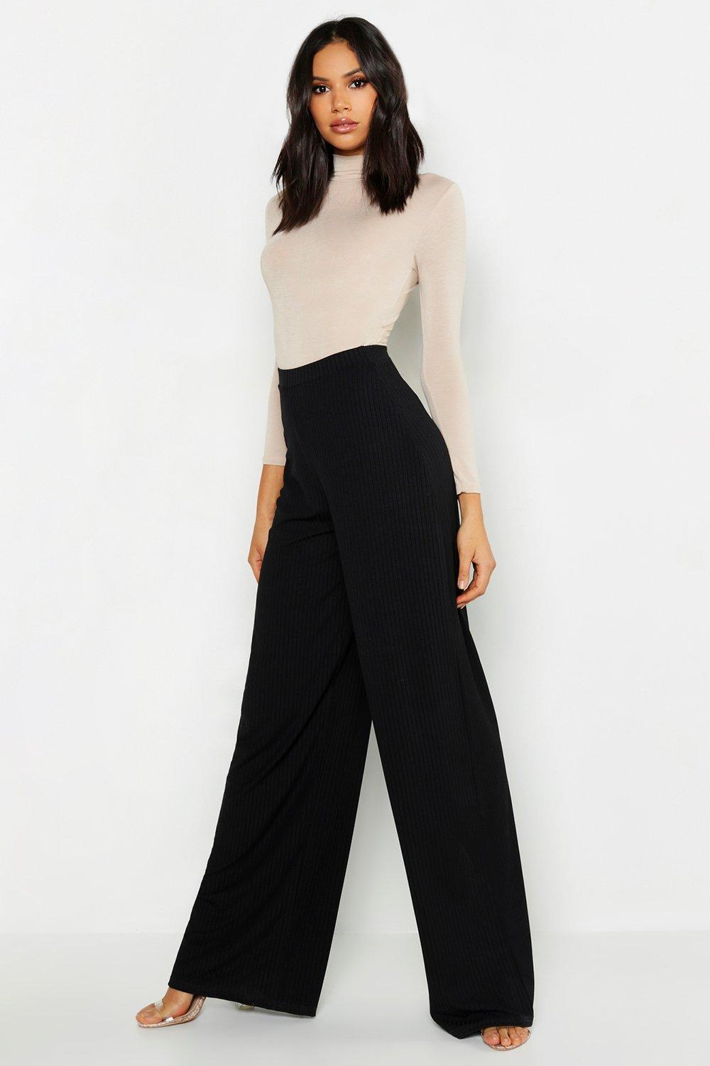 Tall Jumbo Rib Wide Legged Trouser