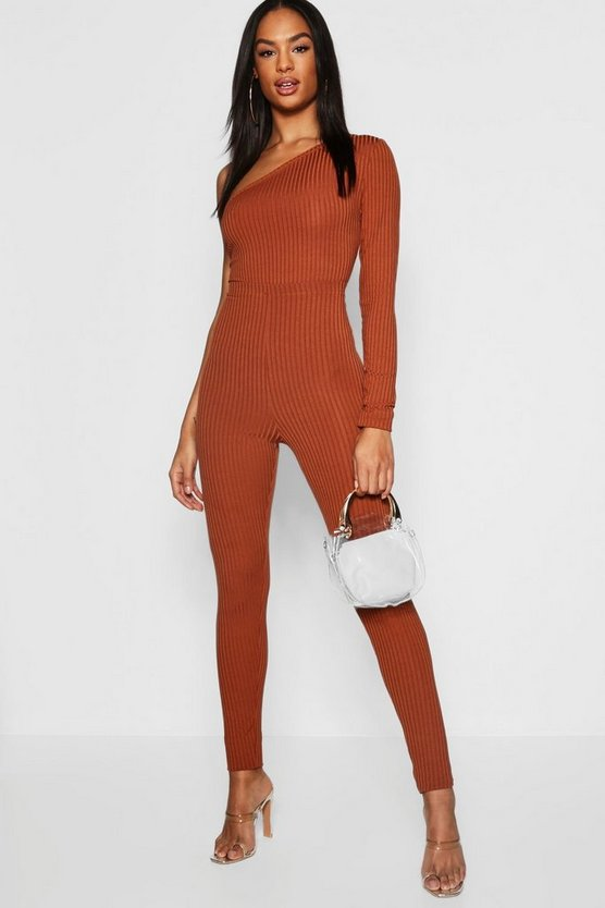 Caramel Tall Jumbo Rib High Waist Leggings