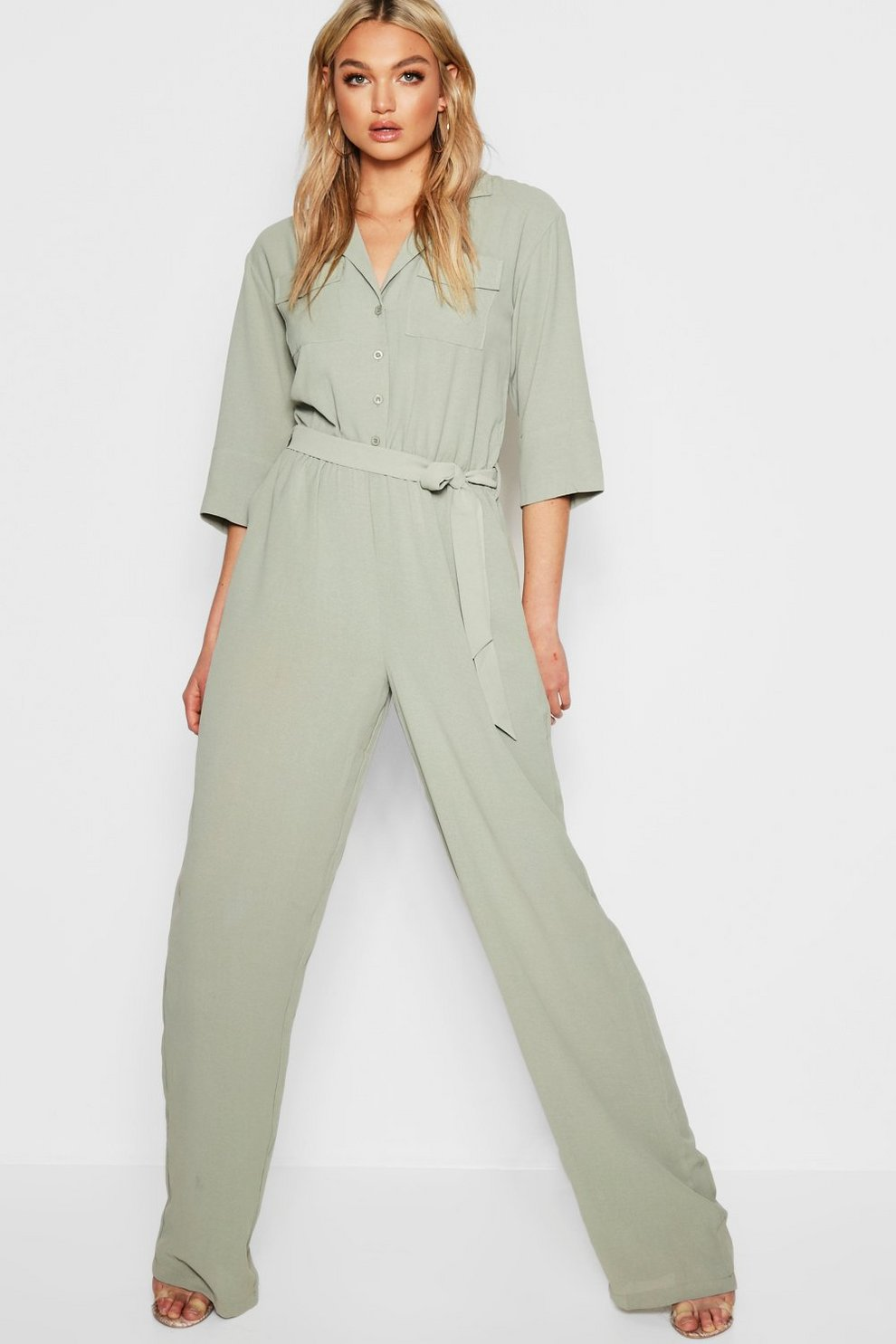 4f1cea8bfc0 Tall Woven Cargo Boiler Suit