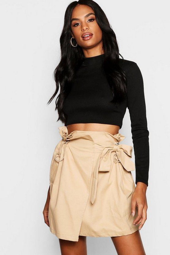 Tall Toggle Utility Pocket Skirt
