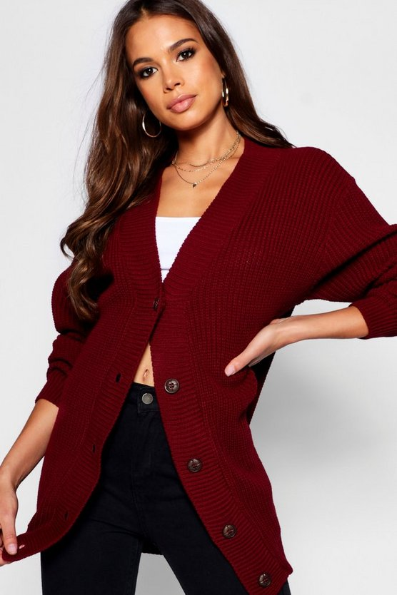 Tall Knitted Cardigan