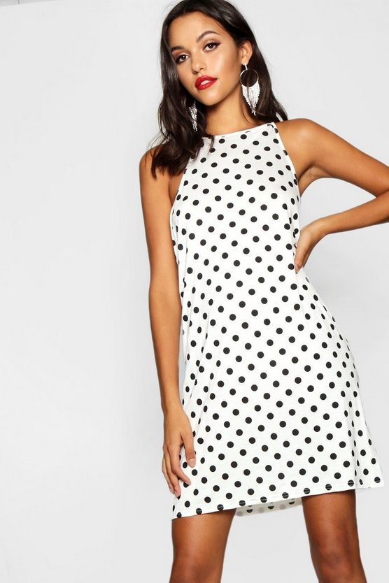 Tall Polka Dot Shift Dress