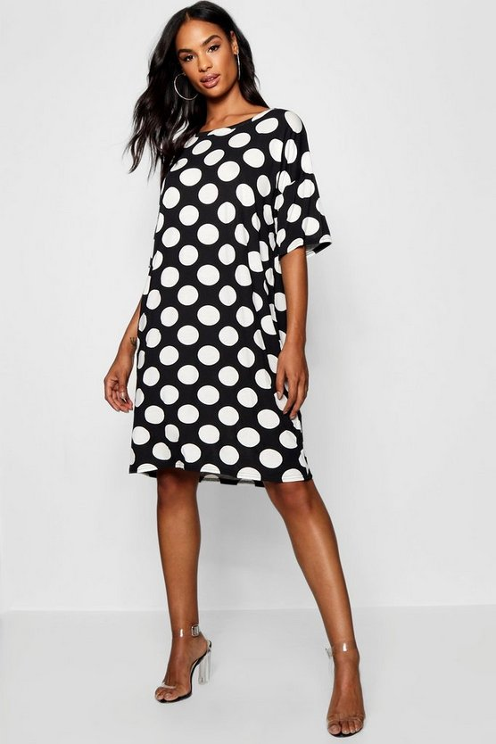 Tall Polka Dot T-Shirt Dress