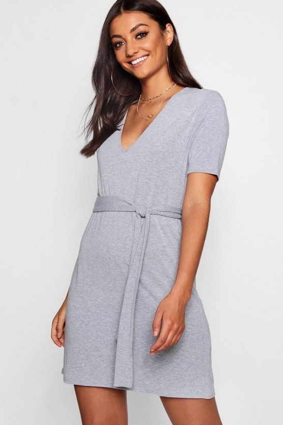 Tall Front Neck Shift Dress