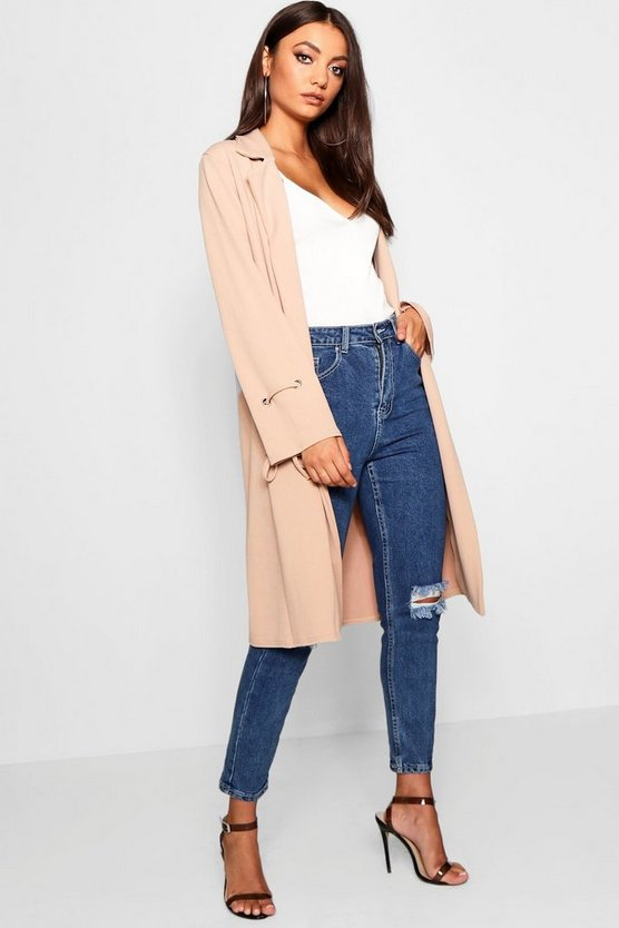 Tall Tie Sleeve Duster