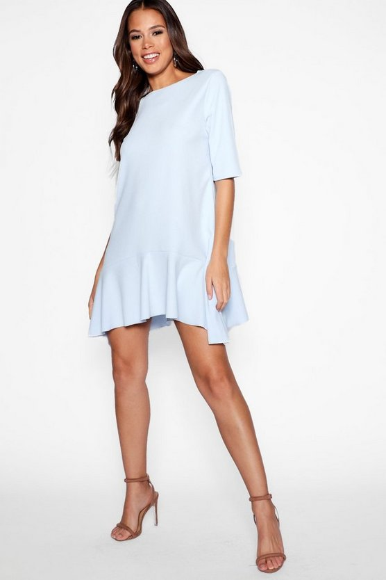 Tall Frill hem Skater Dress