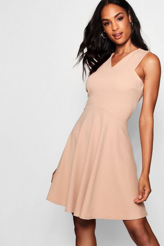 Tall Sleeveless Skater Dress