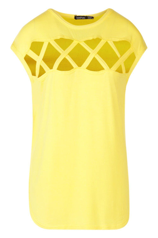 Tall Camiseta tirantes yellow tirantes tirantes yellow Tall de de Camiseta Camiseta de pXwnYZ6Fq
