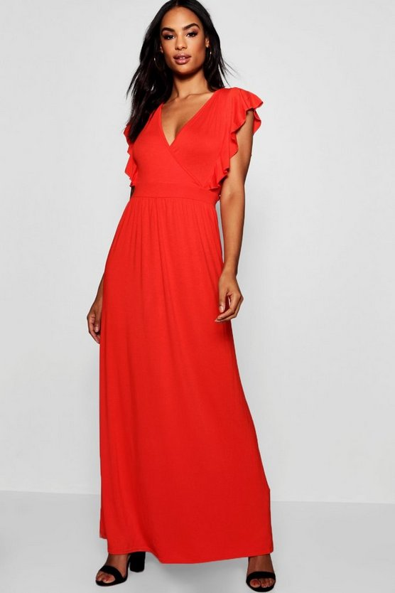 Tall Angel Sleeve Maxi Dress