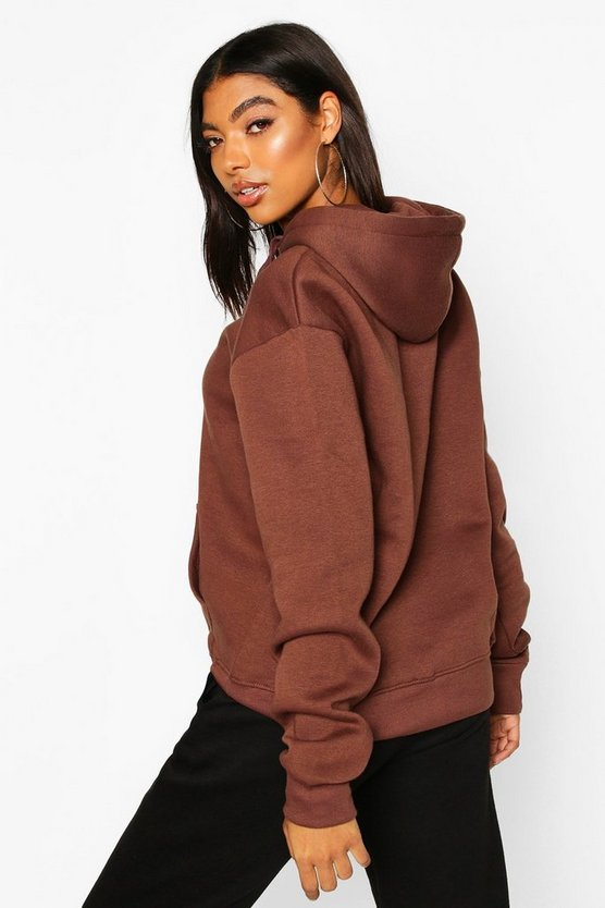 Tall Solid Oversized Hoody