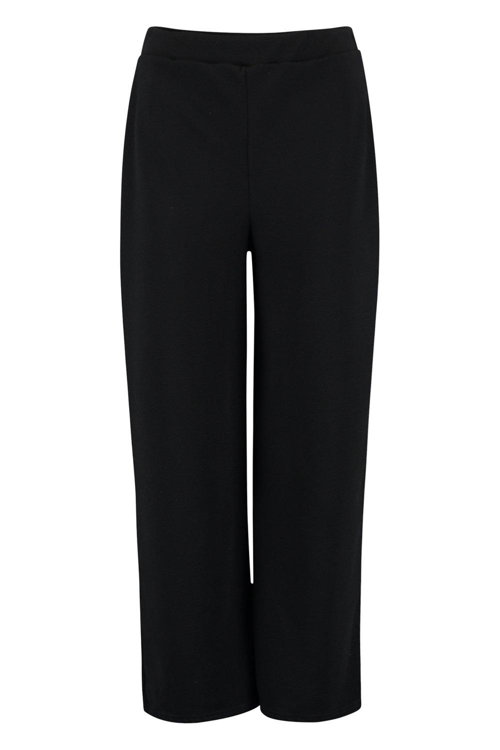 Culottes Culottes Leg black Wide Tall Wide black Tall Wide Tall Leg fxSTqxnzF