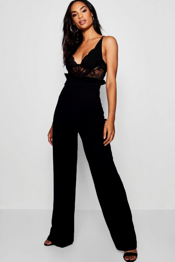 Tall Maya Wide Leg Trousers