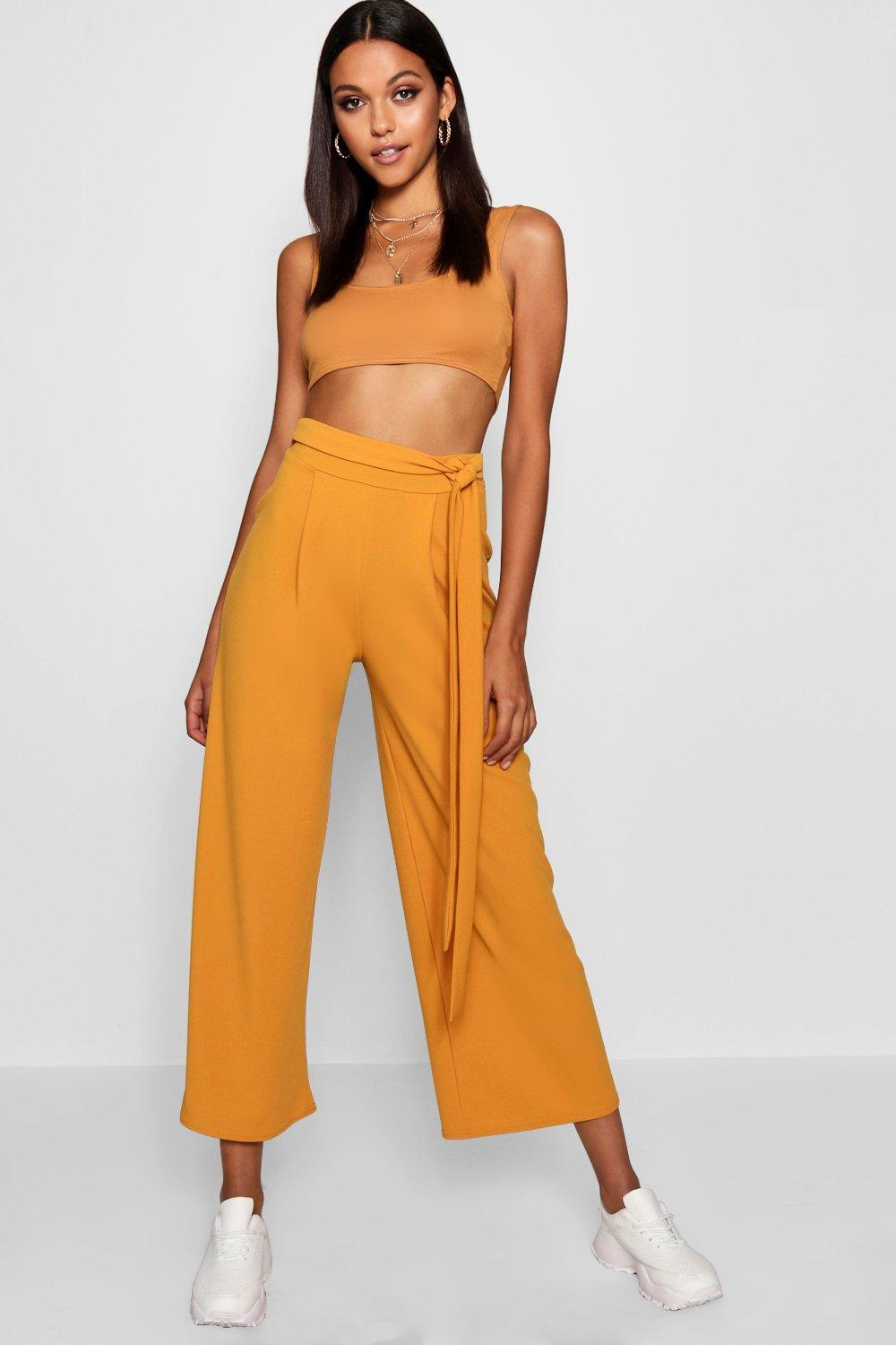 Belted Tall Tall Tall Culottes yellow yellow yellow Culottes yellow Belted Belted Culottes Tall Belted Culottes Tall fpYH7q