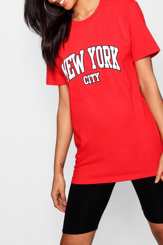 "Camiseta eslogan Camiseta con con ""New City pTSq1Sw"
