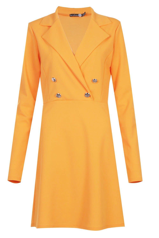 Boohoo-Tall-Military-Blazer-Kleid