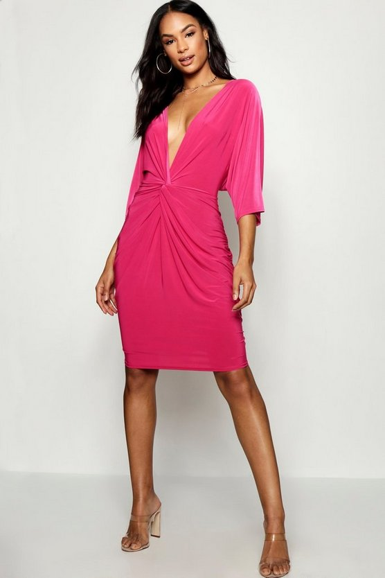 Tall Knot Front Shift Dress