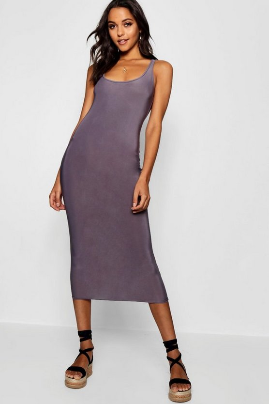 Tall Slinky Midi Dress