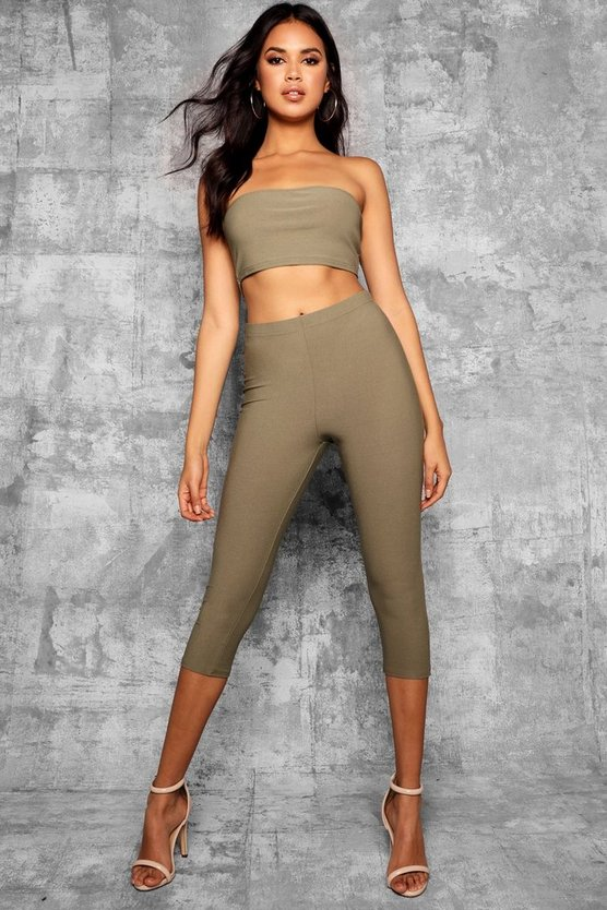 Tall Skinny Cropped Length Trousers